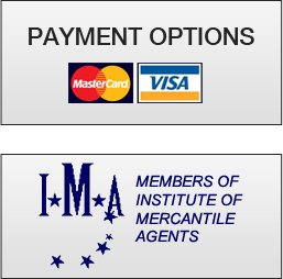 Payment Options, Members of Institute of Mercantile Agents